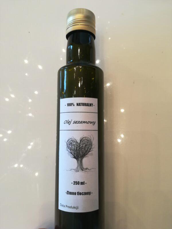 Olej sezamowy zimnotloczony