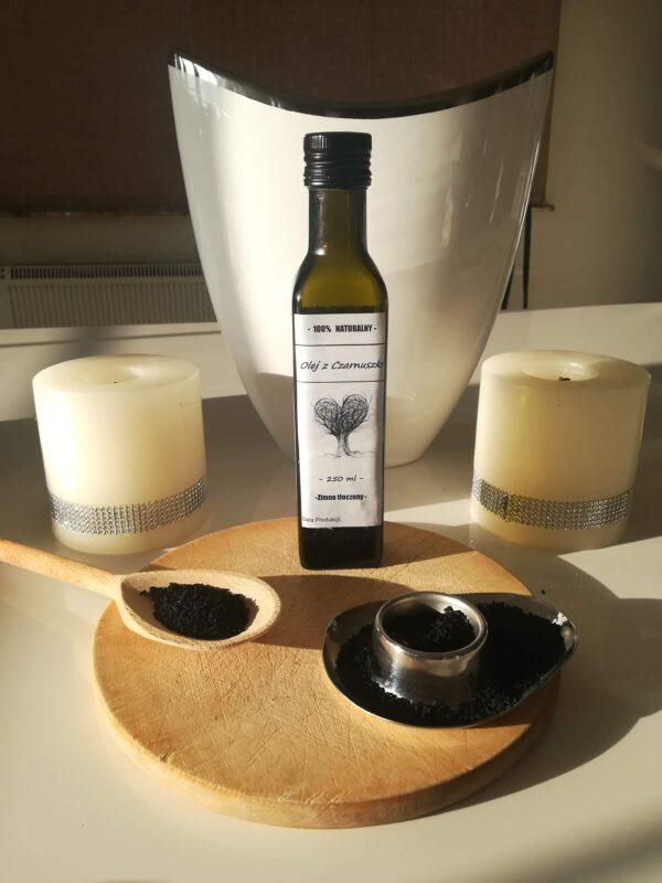 Olej z czarnuszki zimnotloczony