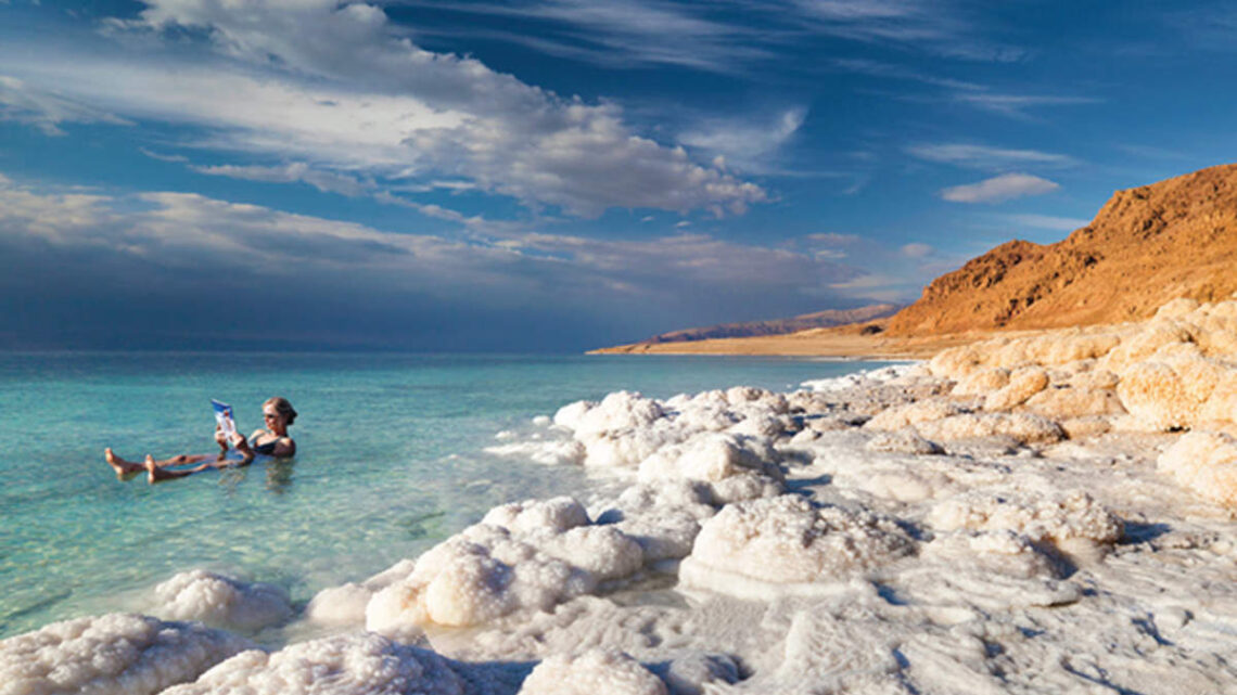 Lecznicza sól z morza martwego